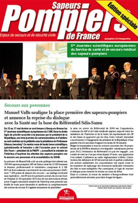 Sainte-Barbe 2013 : bilan secours santé