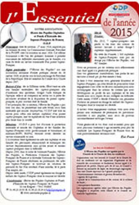 ODP L'essentiel 2015
