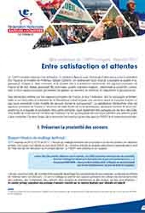 Bilan congrès national des pompiers 2017 - à Ajaccio