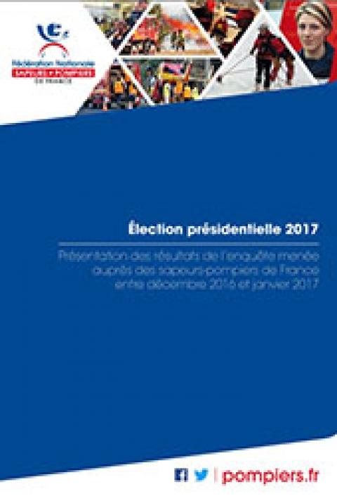 Election présidentielle : résultats enquête sapeurs-pompiers