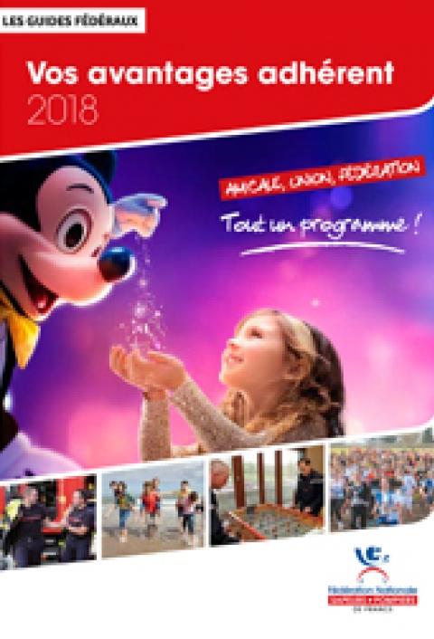 Les guides fédéraux - Vos avantages adhérent 2018