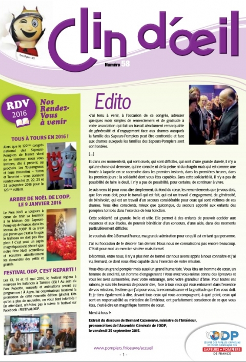 Clin d'Oeil 58
