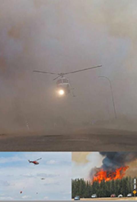 dossier méga feux de forêt