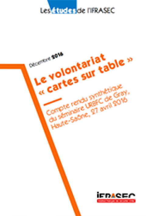 "Le volontariat ""cartes sur table"""