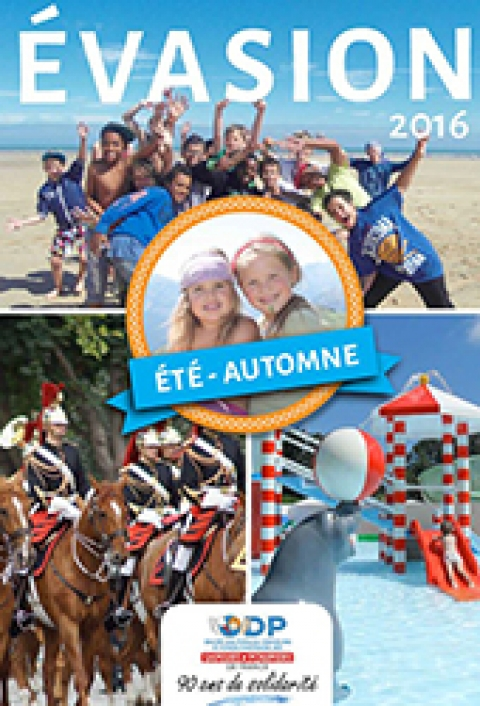 Vacances : Brochure été automne 2016