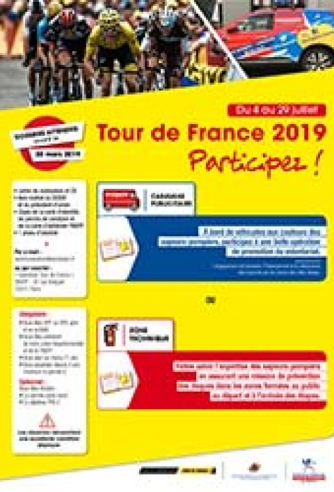 Tour de France 2019 - Appel à candidatures