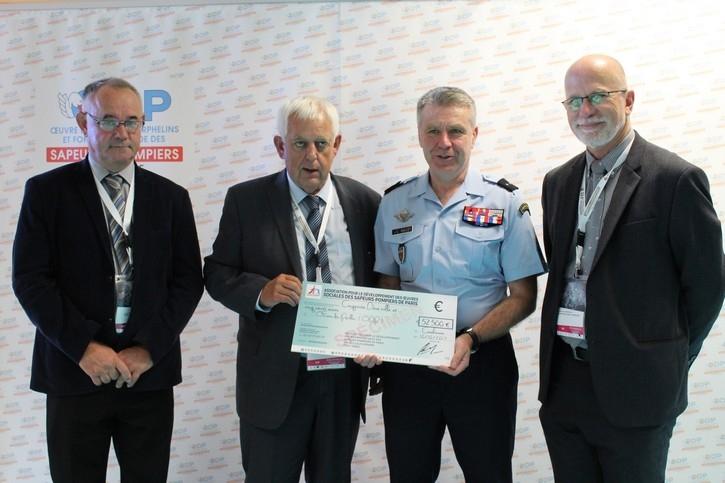 Brigade des Sapeurs-Pompiers de Paris (75) - 52 500€