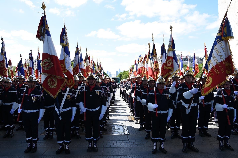 JNSP2017 - Gardes drapeaux des corps départementaux d'incendie et de secours SDIS