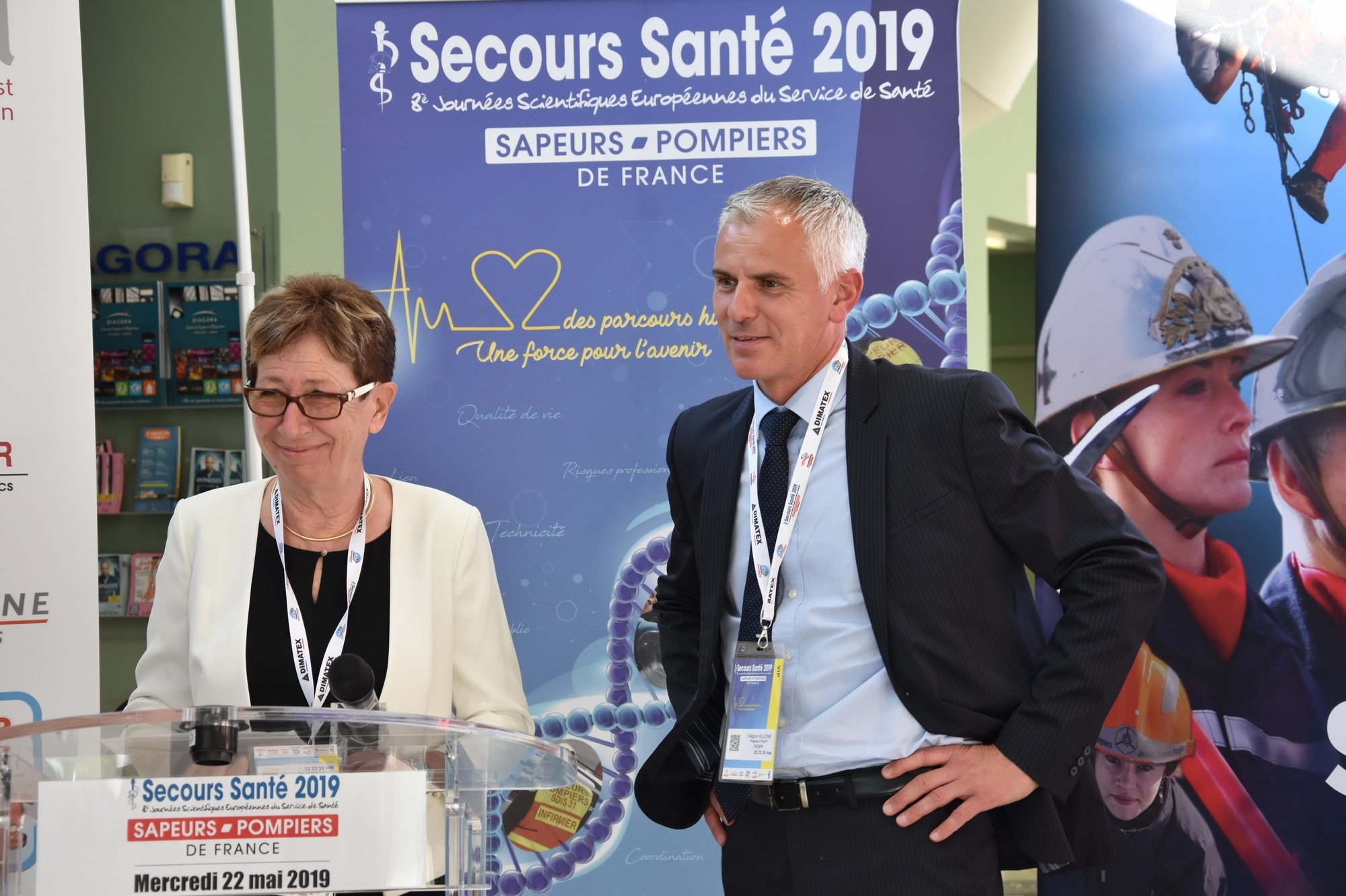 Inauguration secours santé 2019 Grégory Allione