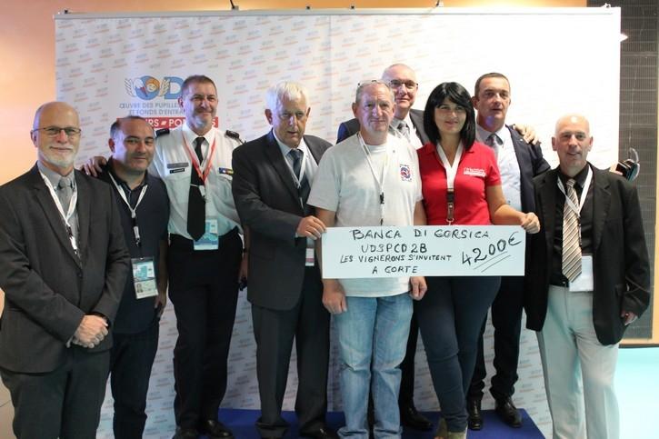 Union Départementale des Sapeurs-Pompiers de Haute-Corse (2B) - 4 200€