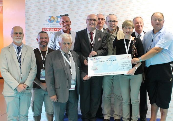 Union Départementale des Sapeurs-Pompiers de la Mayenne (53) - 15 200€
