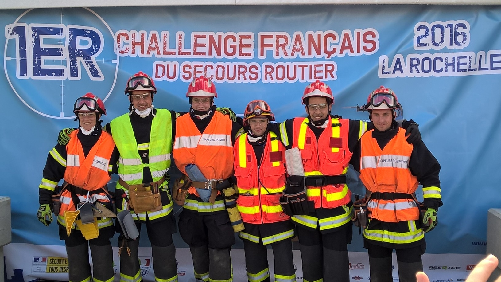 Challenge national de secours routier 2016
