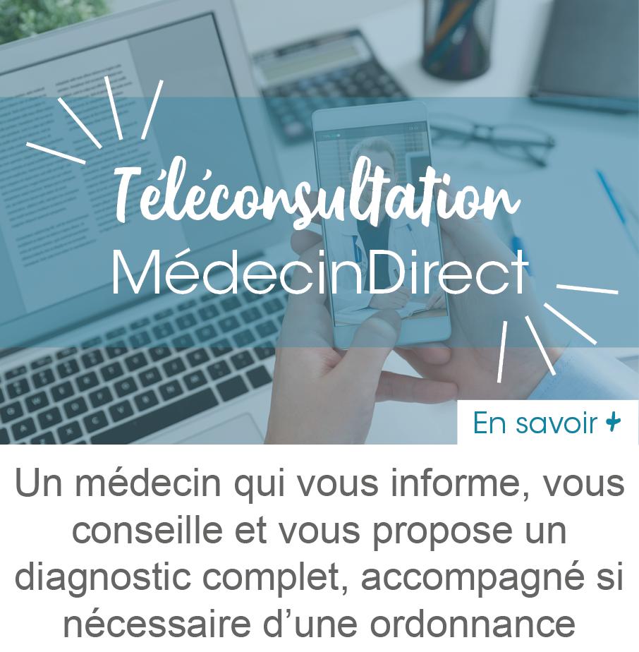 Téléconsultation MédecinDirect